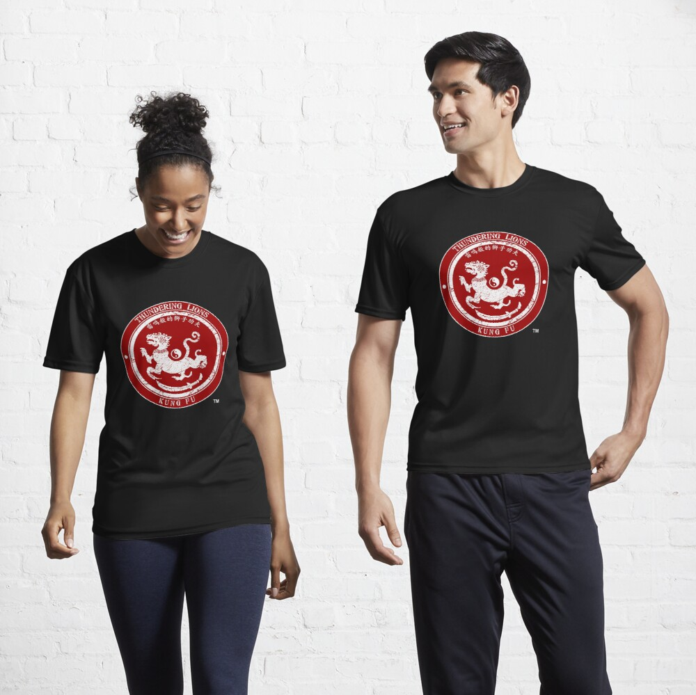 Thundering Lions Red Logo Active T-Shirt