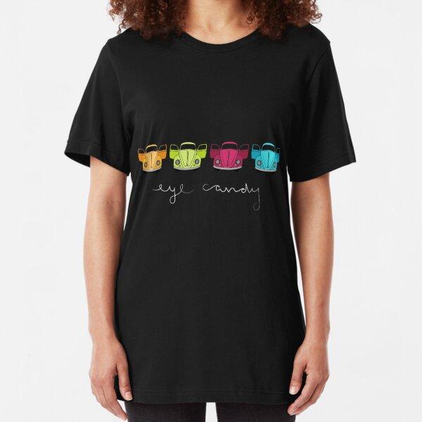 Eye Candy-dark tee Slim Fit T-Shirt
