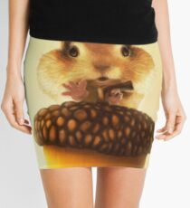 Squirrel Mini Skirt
