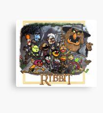 The Ribbit Metal Print