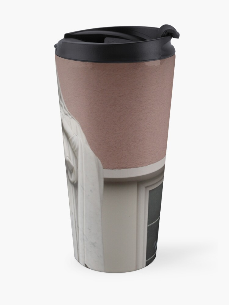 Alternate view of the virgin mary Travel Mug