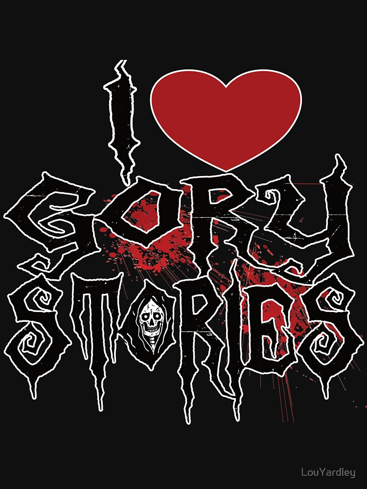 I LOVE GORY STORIES LOGO by LouYardley