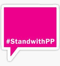 #StandwithPP Sticker