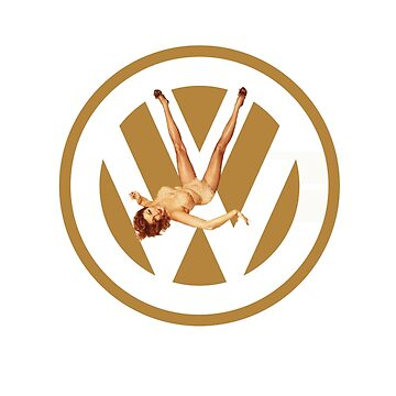 Volkswagen Pin-up (yella) by sarahrulon