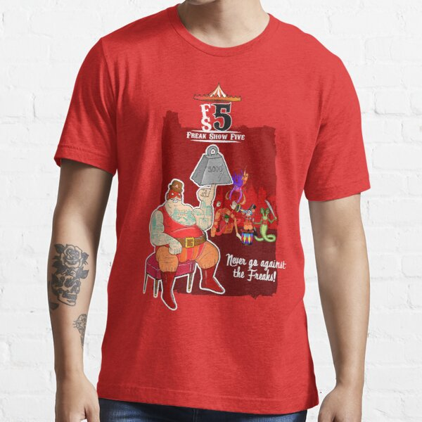 Freak Show Five - Pack Of Heroes Essential T-Shirt