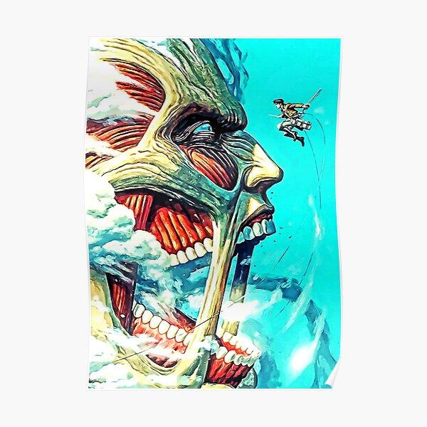 attack on titan design 16 Poster