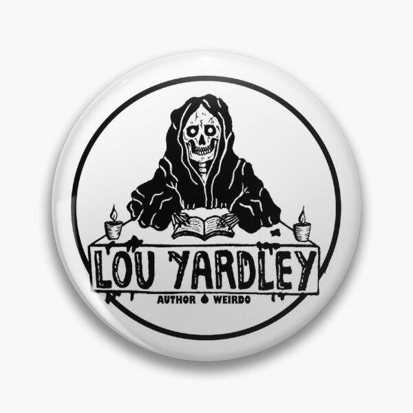 Lou Yardley - DaGrimm Reader Logo (by Sludgework) Pin