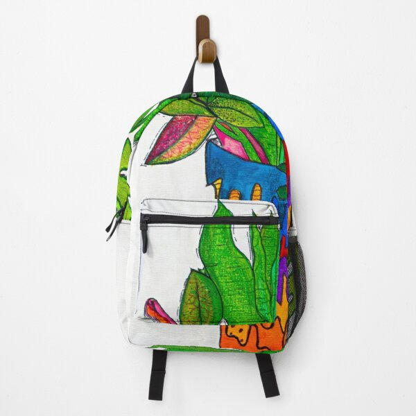 trippy plants Backpack