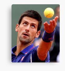 Novak Djokovic Canvas Print