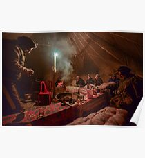 Nomad Tent in India Poster