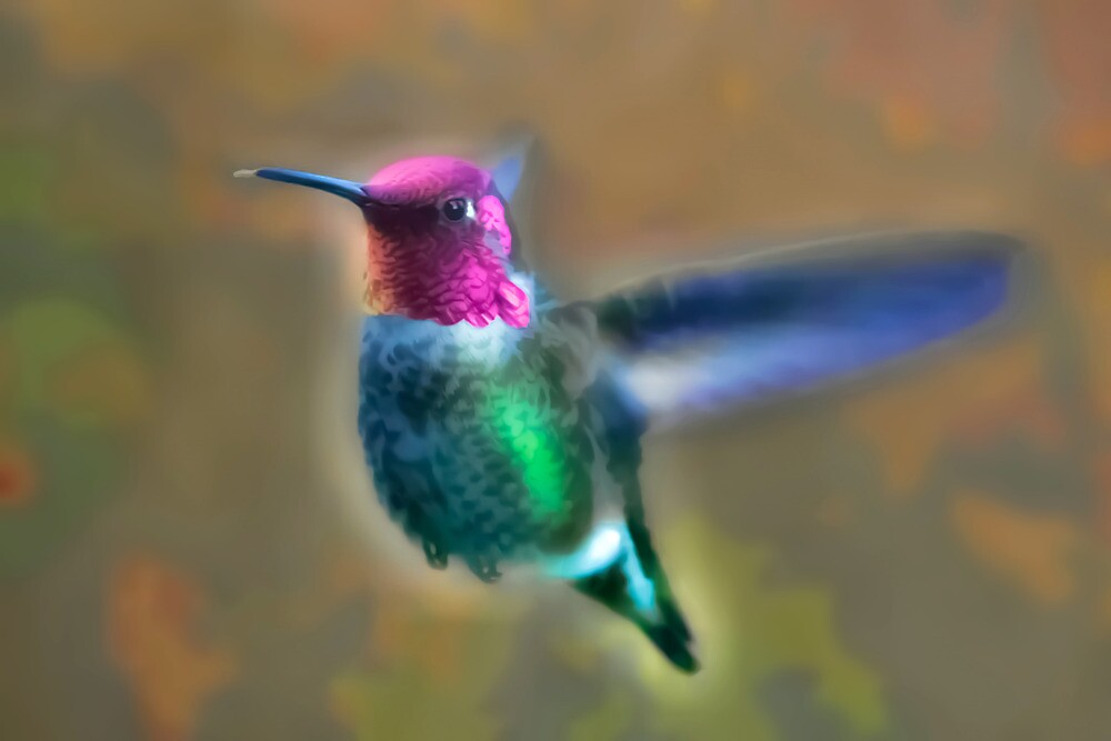 Neon Hummer by Kenneth Haley