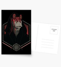 Darth Darth Binks Postcards
