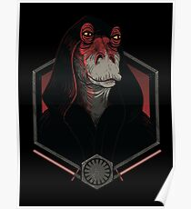 Darth Darth Binks Poster