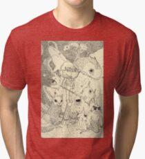 Under da Sea Tri-blend T-Shirt