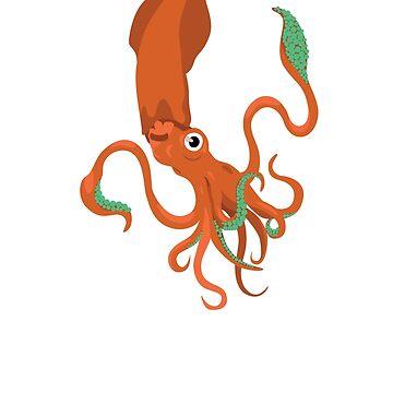 Cephalopod by sarahrulon