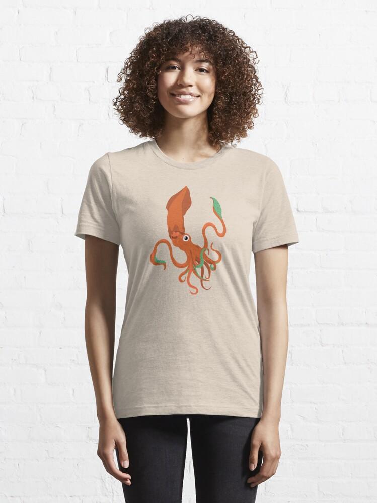 T-shirt essentiel ''Céphalopode': autre vue
