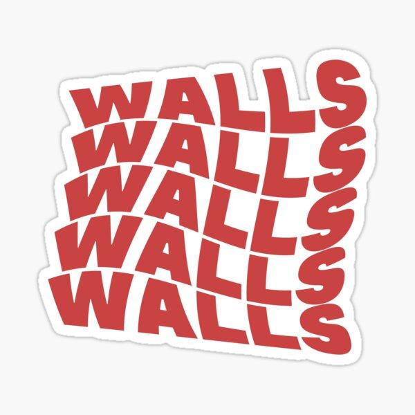 Wavy Walls Louis Tomlinson Sticker