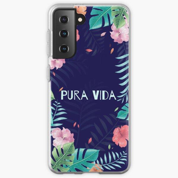 Tropical Pura Vida Samsung Galaxy Soft Case