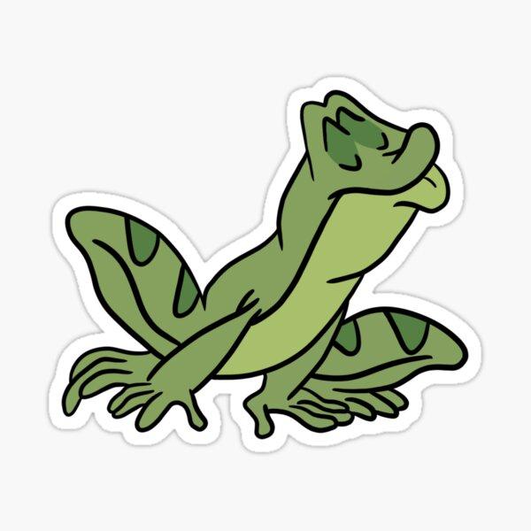 Kissing frog Sticker
