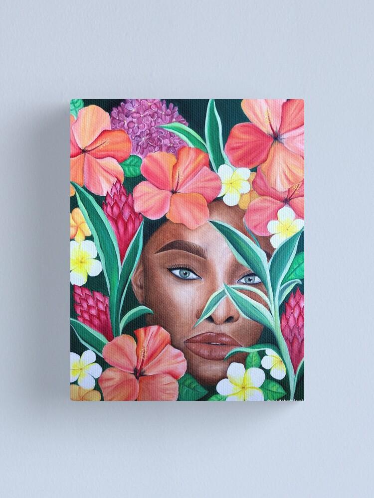 Alternate view of Akua o na pua Canvas Print