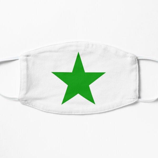 Esperanto Star Flat Mask