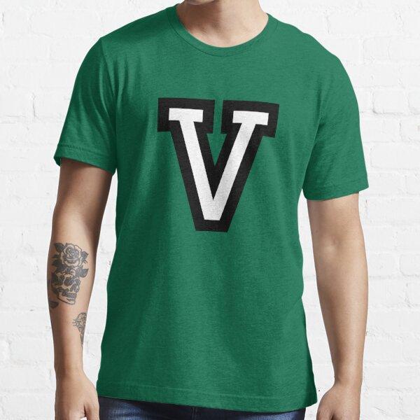 Letter V two-color Essential T-Shirt