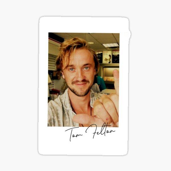 Tom Felton Polaroid Sticker