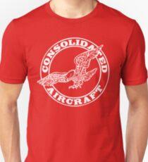 Consolidated Aircraft Logo (White) T-Shirt