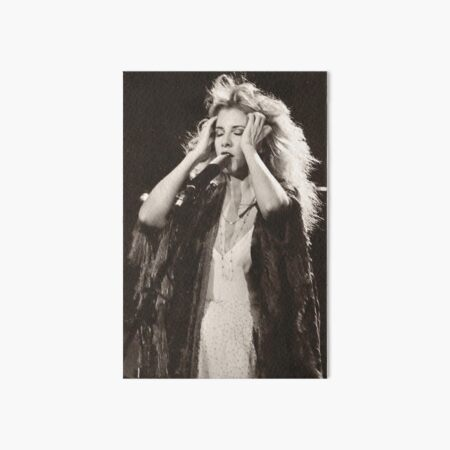 Stevie Nicks Art Board Print