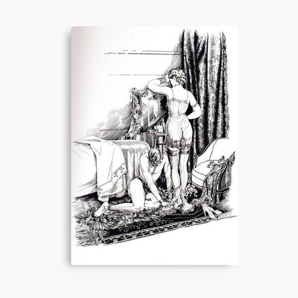 BDSM Female Domination Fetish Canvas Print