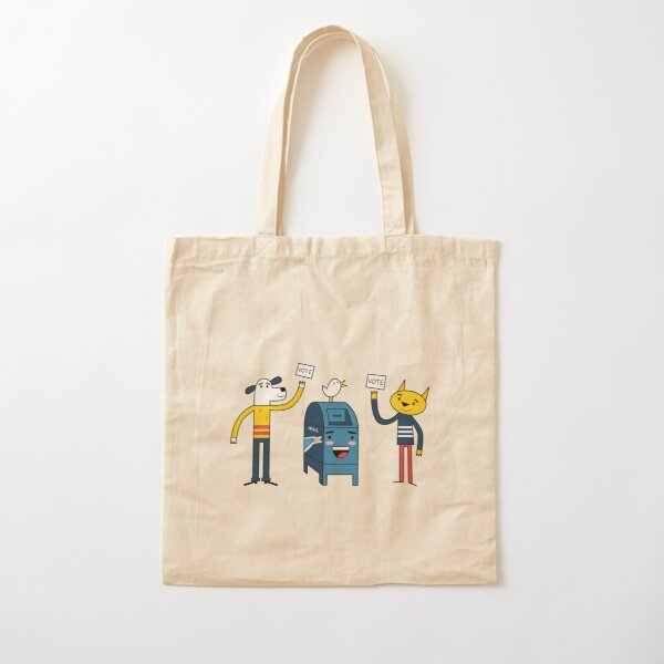 Pet Owners Vote Cotton Tote Bag