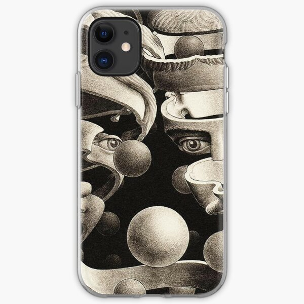 M.C. Escher Journey Into Infinity iPhone Soft Case