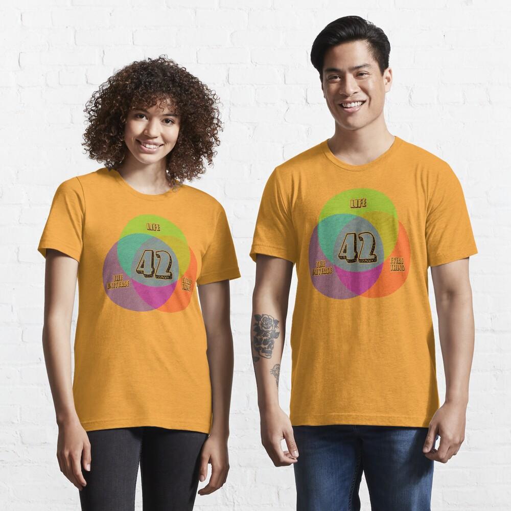 NEW Venn Diagram: Life, the Universe & Everything (for light shirts) Essential T-Shirt