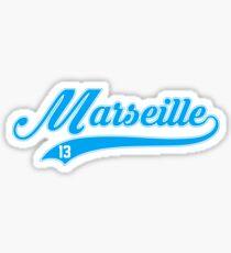 Marseille style Baseball Sticker