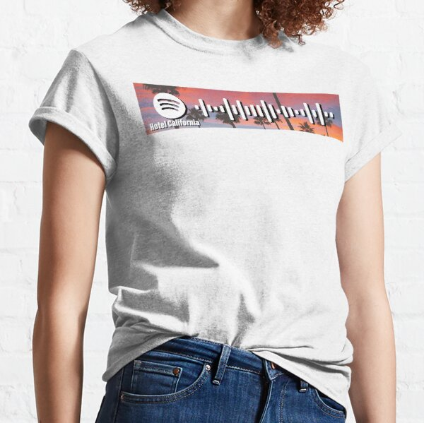 Hotel California - The Eagles - spotify code 1 Classic T-Shirt