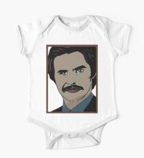 Anchorman 2 - Ron Burgundy  One Piece - Short Sleeve