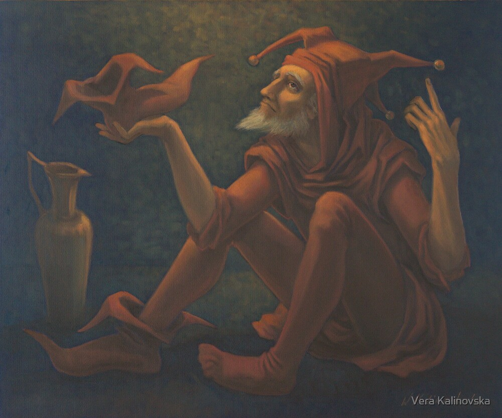 Confession Of The Jester by Vira Kalinovska