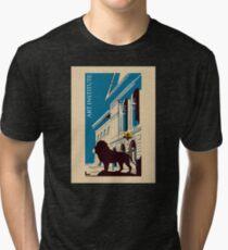 Art institute Chicago retro Tri-blend T-Shirt
