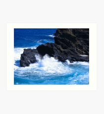 """Hawaii Ocean"" by Carter L. Shepard Art Print"