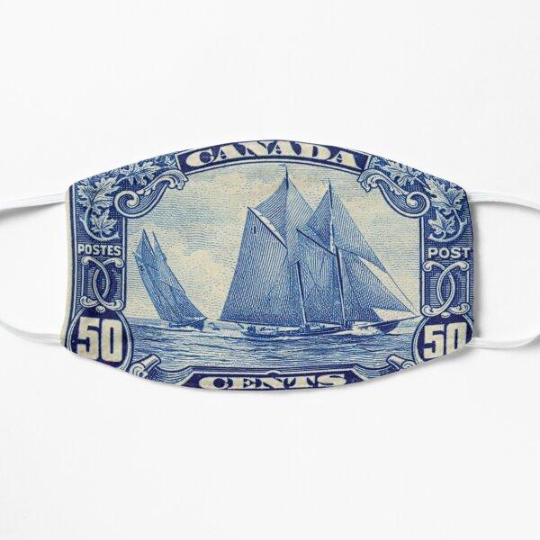 Schooner Bluenose 50 Cent Canadian Postage Stamp  Flat Mask