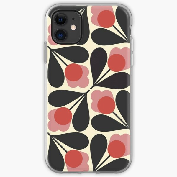 orla kiely design iPhone Soft Case
