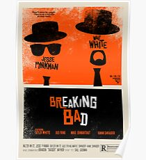 Breaking Blues: A Blues Brothers parody poster Poster