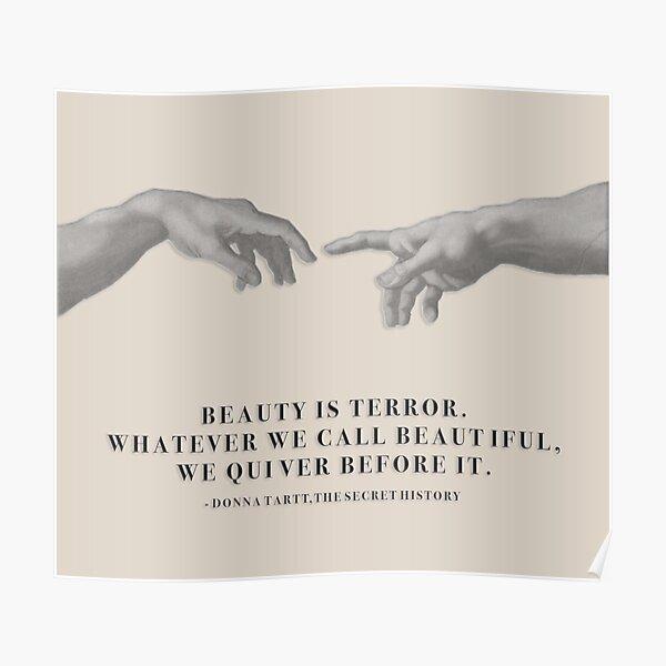 beauty is terror Poster