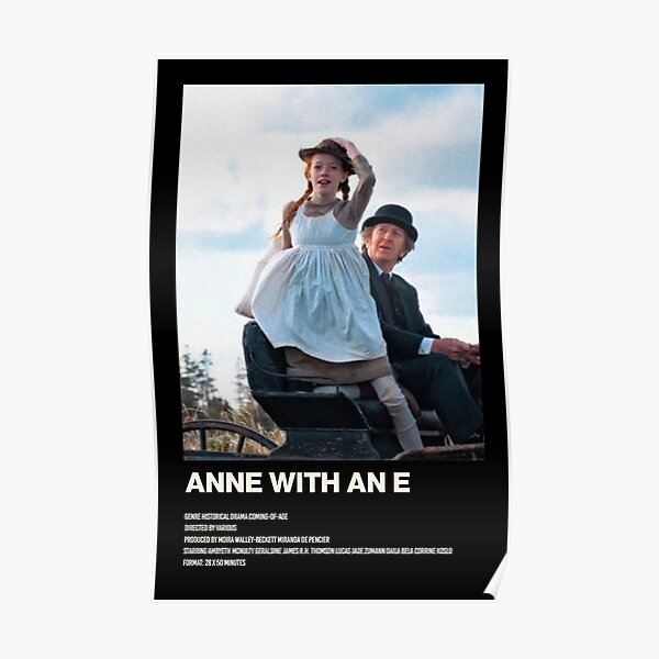 Anne With An E 3 Póster