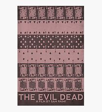 The Evil Dead (1981) Poster Photographic Print