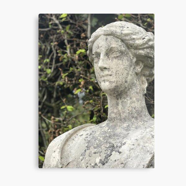 Lady of Stone Metal Print