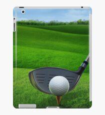 Golf Golfing iPad Case/Skin