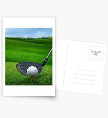 Golf Golfing Postcards