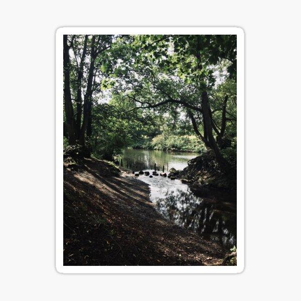Hidden Lake Sticker