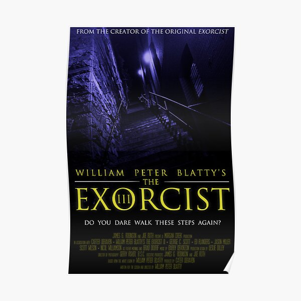The Exorcist III (Poster 2 Blue) Poster